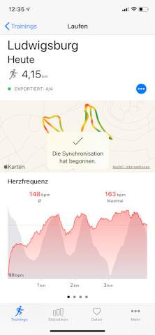 HealthFit - Apple Watch - Activity sync