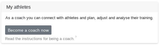 Unlock as coach