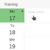 plan and create a training